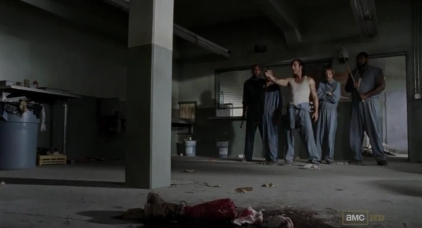 R.I.P. Hershel's Leg. ' happens'.