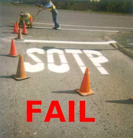 Road Contruction FAIL. Road Contruction fail.. fial