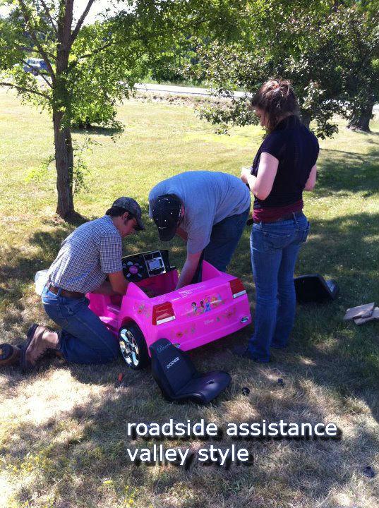 """Roadside assistance. . Pi; Astarte"""""""