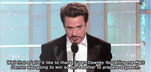 Robert Downey Jr. . it? tgl his ta thank far telling tnm Matt. I love that man no homo maybe some homo