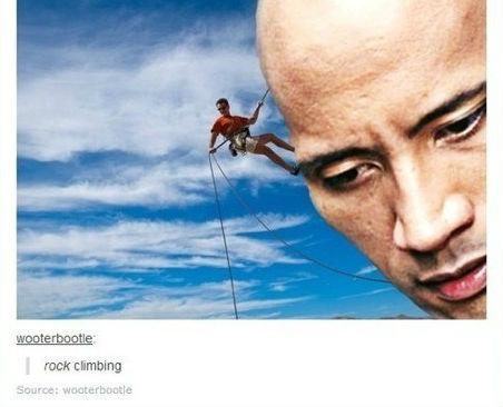 Rock climbing. . ruck demoing. I knew he would become hokage!