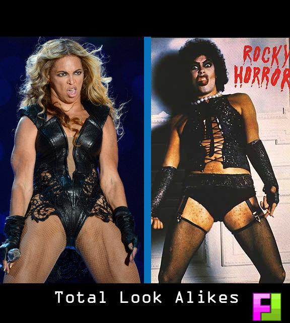 Rocky Beyonce. Total Sisters. Total Look Alikes St. by far my favorite.