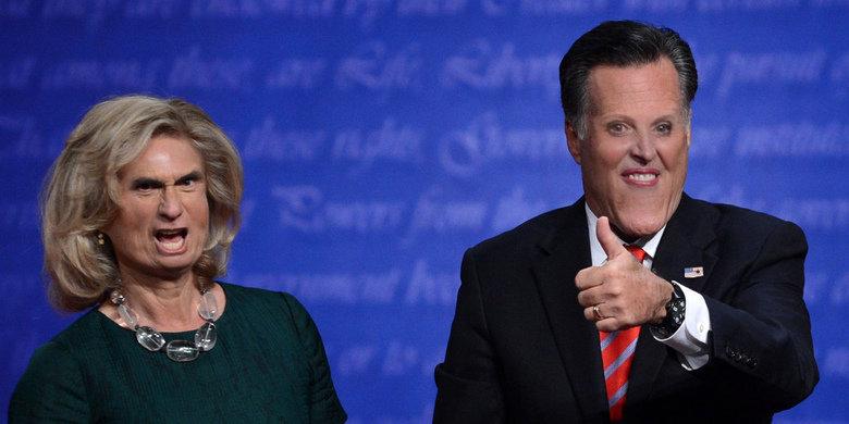 Romney. .