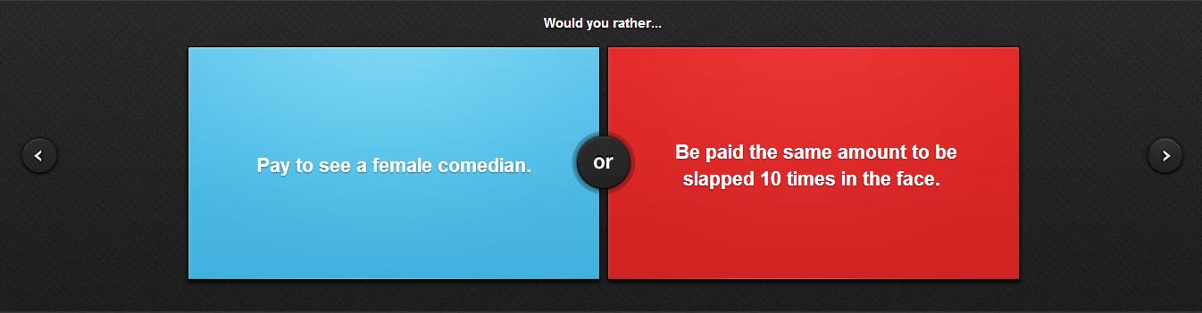 Roughly the same thing. I'd go for slaps.. slaps