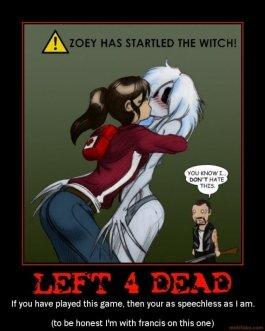 Zoey left 4 dead rule 34