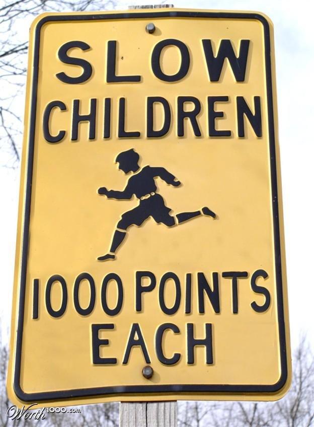 Run Faster. .. ''OVER NINE THOUSAAAND!!!''