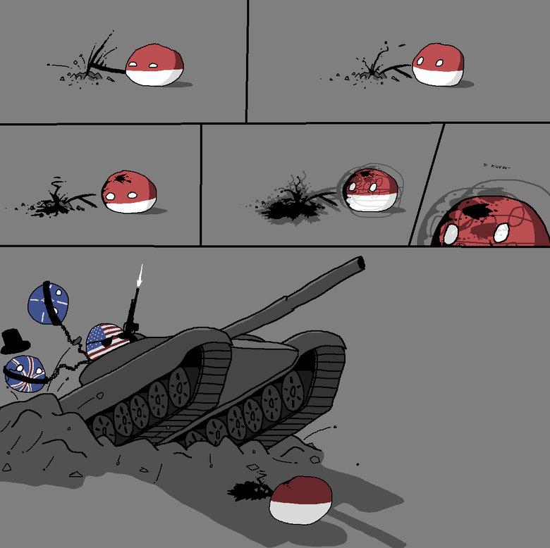 RUN, POLAND. RUN!. We comin' 4 u. 'Murica.. Poland! Use Self-destruct!