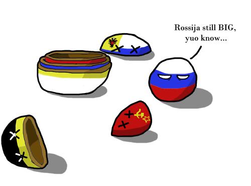 russia is still big. . Rossiya still BIG, yuo know,. Russia always big Russia always stronk