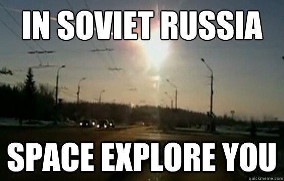 Russia Meteor. .