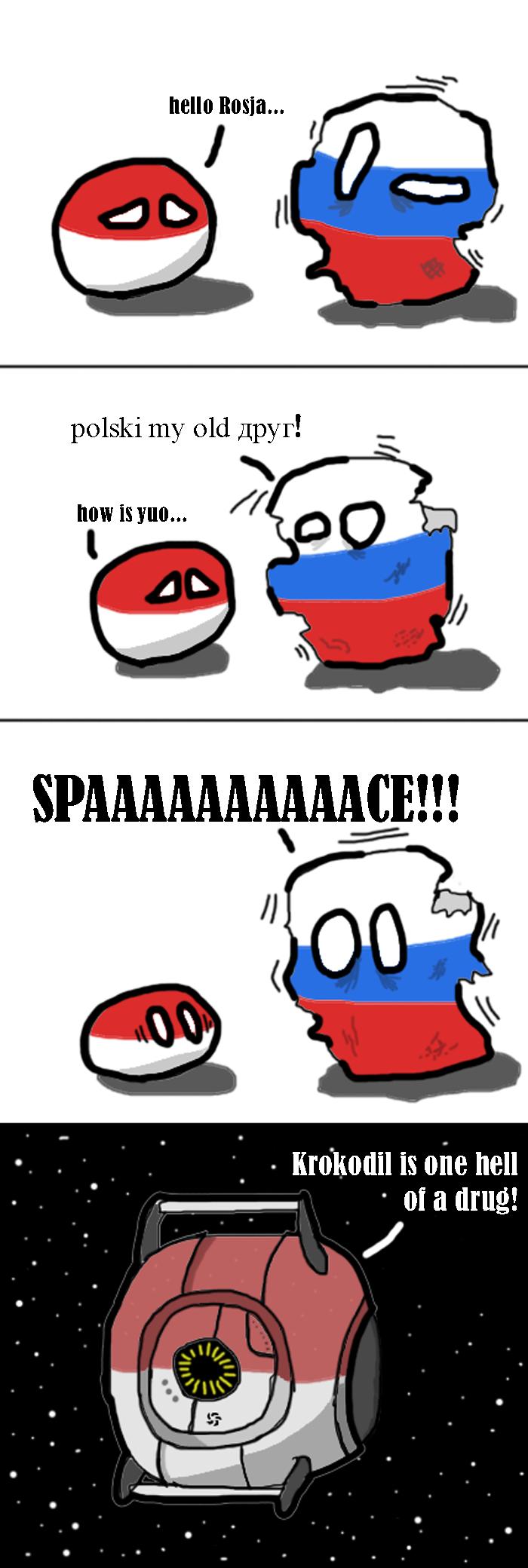 Russia on Drugs. r/polandball. hell!) Itallic, ll y tta Polski my old ,. tts 1: sls 1 : l( 1' 01{ stlil is one hell crocs