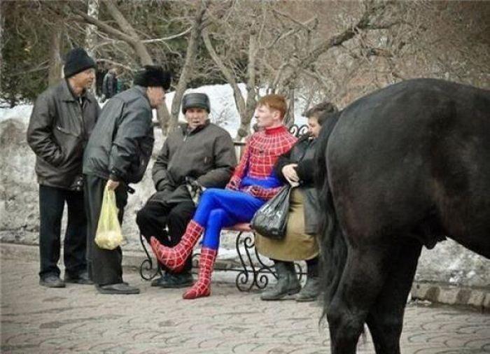 Russian Spiderman. .