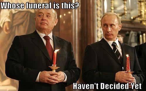 Russian Funerals. .