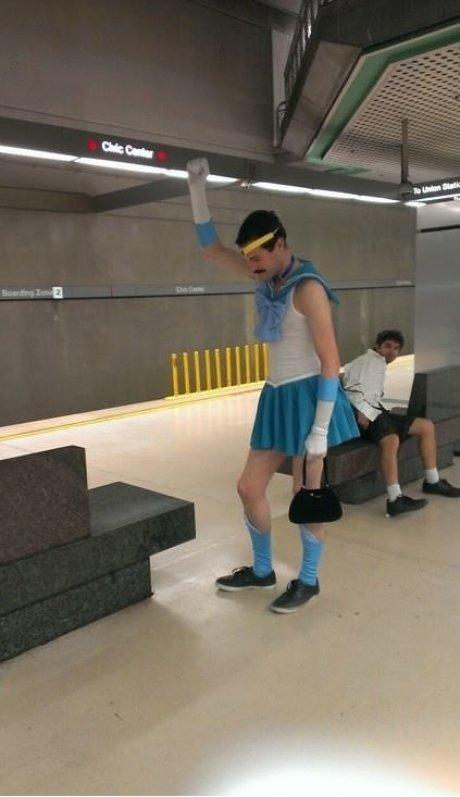 Sailor Freddie Mercury anyone?. . was
