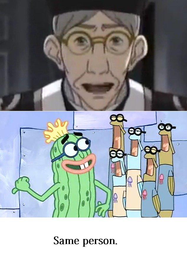 Same voice actor.. Boom.. Same person.. Hi Kevin...