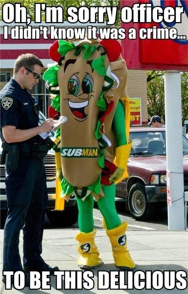 Sandwich Police. .
