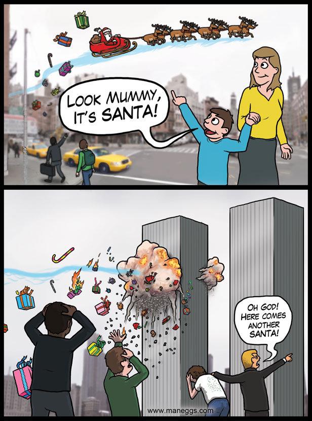 Santa in New York. Merry Christmas, FJ!<br /> !!!!.. so 12/25?
