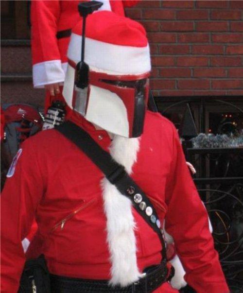 Santa Fett. Ho Ho Ho...said Jabba..