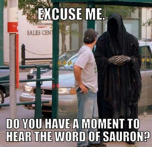 Sauron's witness. 100% not OC.