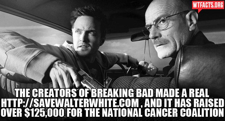Save Walter!. Source: wtfacts.org/. if ';'iii' ii' BREAKING BAIT MAINE A ITEM IT NM RAISE] WEB , 000 FAN THE NATIONAL RANGER II I
