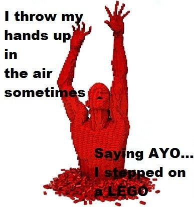 Saying AYO. I lol'd.. i throw my controller into the air sometimes saying ayyooooooo im playin haloooooooo