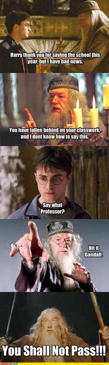 "School work. . Hana} , tor ""saving: we mu have lama behind an Inn: ma . l. -.' Harry Potter did your Mom"