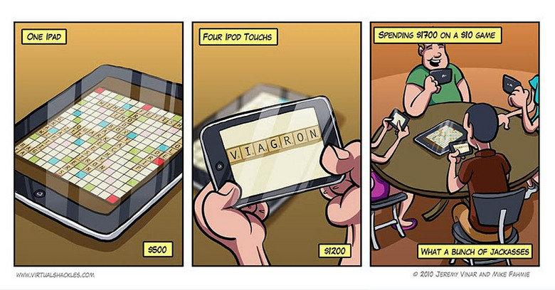 Scrabble. . scrabble iPods Money