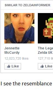 Screenshot. Paint. FunnyJunk ??? Profit. God dammit Facebook. SIMILAR TD BELDAM N FORM ER Janette The Legs Mccurdy Zelda UK 12323.? -it like 127. ) In Like & Li Zelda facebook Jennette Mccurdy