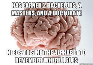 Scumbag Brain. .. That's my favorite number