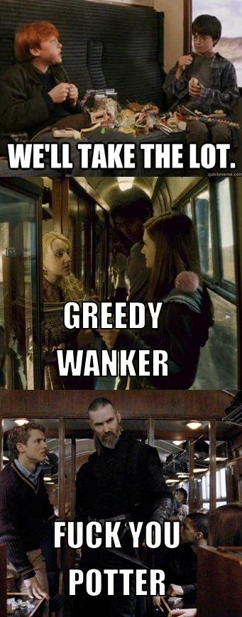 Scumbag Harry. your Harry... OMG, Liam Neeson? lol