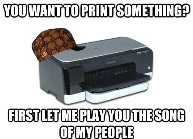 scumbag printer. erry night dis gotta go down. WUMB@ Scumbag steve printer Frog