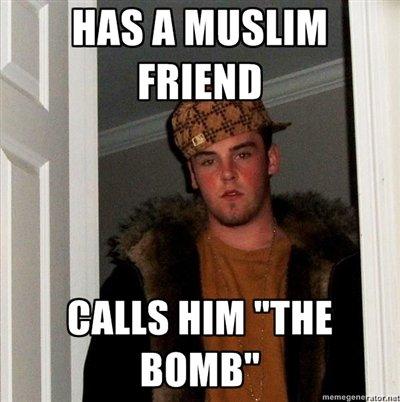 Scumbag Steve. .. Hey Ahmed, you stoned !