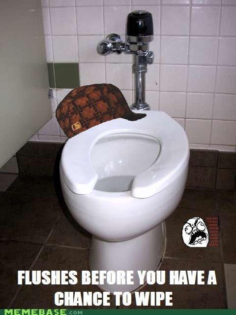Scumbag Toilet. .