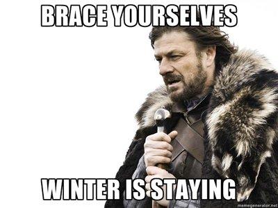 Brace yourself.