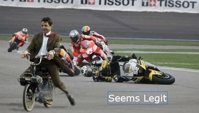 Seems Legit Bean. Mr. Bean seems legit.