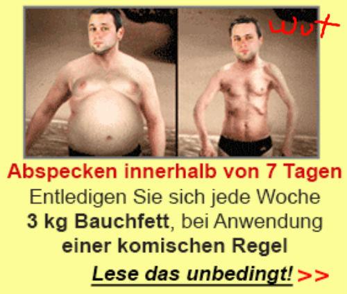 "Seems fuckin legit. ""Loose weight in 7 days Get off 3kg belly fat a week, by using a strange rule!"" u want sum fuk?."