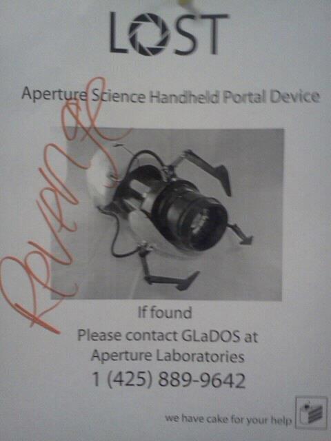 Seems Legit. . Mound Please contact at Aperture Laboratories