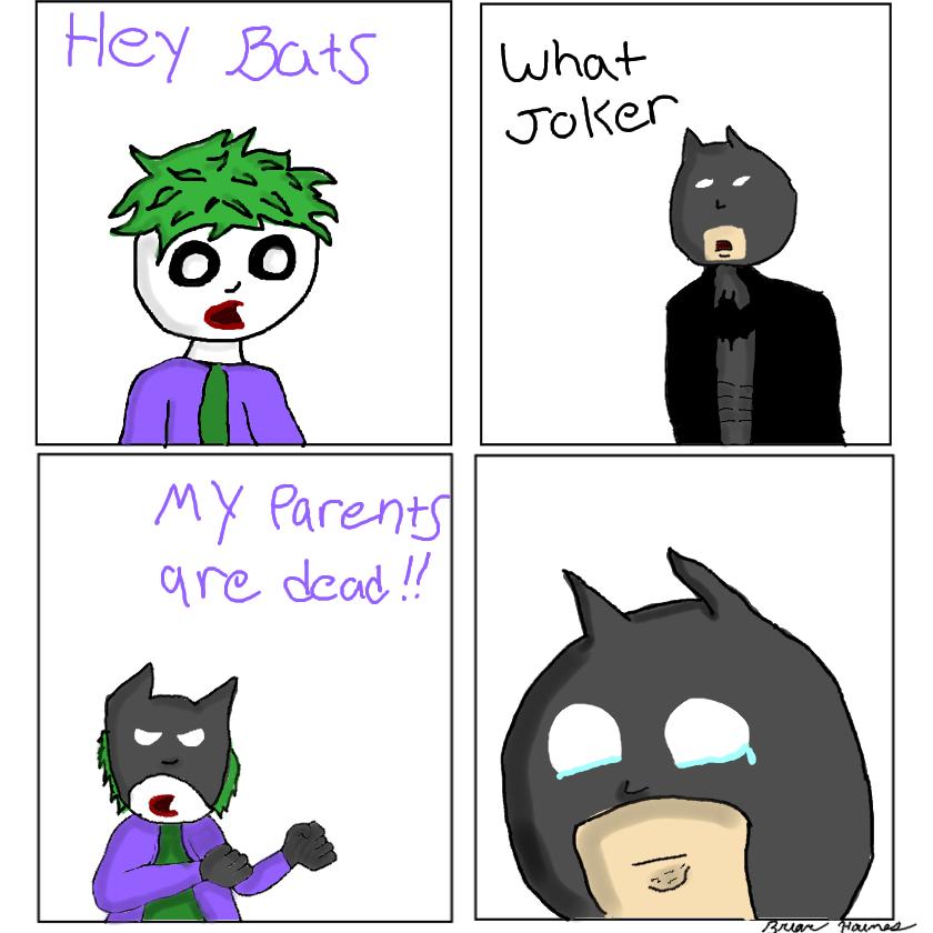 Sensative subject joker. This was my 2nd OC I made on my new drawing tablet. Let me know if I did ok. Facebook: www.facebook.com/stonerbuu?ref=hl. batman bat man joker DC superhero comic funny