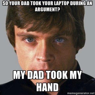 Serious Luke. Used memegenerator. so MB Will! VINE '