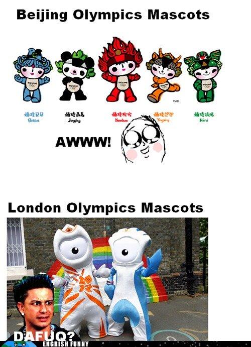 Seriously London. Seriously London. Olympics Mascots
