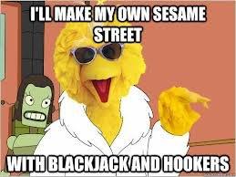Sesame Street. .