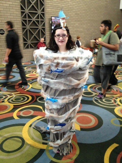 sharknado. .. world best cosplay.