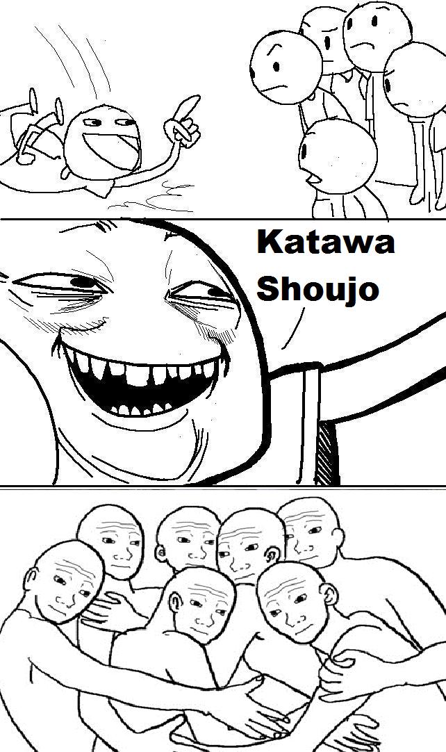 Shatawa Koujo. Everytime... Evertim. Katawa Shoujo visual novel using tags correctly