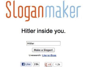 Shh shh shh.... ...Let it happen. Sloganmaker Hitler inside you.. Poland's face when