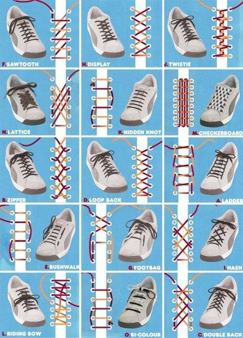 Shoe Lace Tricks. INB4 ''VELCRO FTW'' or ''JUST WEAR FLIP-FLOPS''. announce. Crocs is best shoe