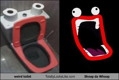 Shoop Da Whoop.. .. That woyld hurt shoop da whoop Toilet
