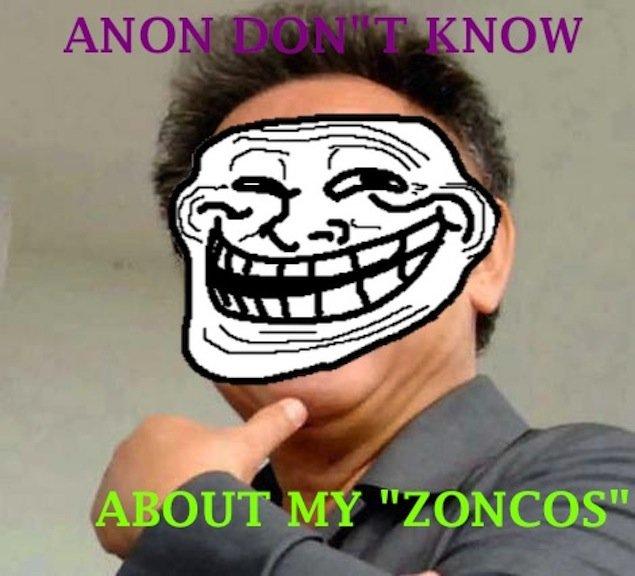 SILLY ANON. ZONCOSZONCOSZONCOSZONCOSZONCOSZONCOSZONC OS.. ZONCOS