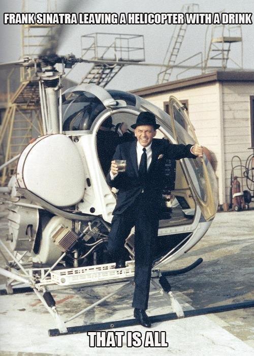 Sinatra. .