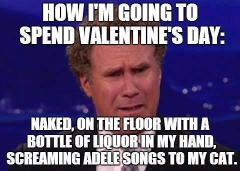 "Single like me?. . Billbell I' M Tiill SPEND VALENTINE' S DAY: NINE. IIN WITH ll ttr MY NAN"".. He was rolling in some deep ."