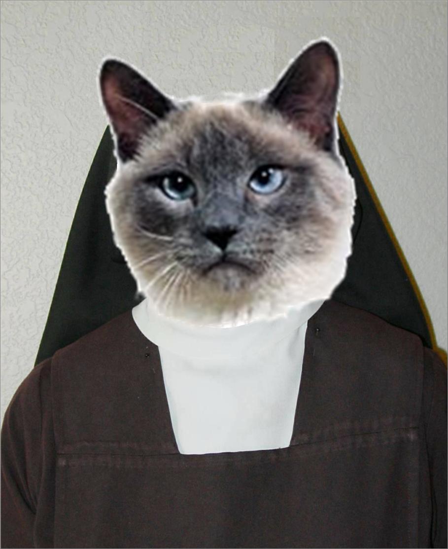 Sister Catresa. My profile picture..