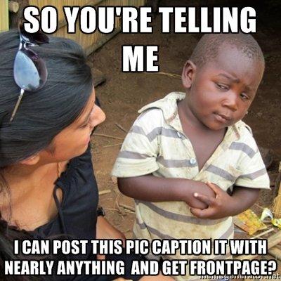 skeptical 3rd world child. . llr) A j ME